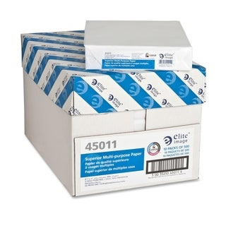 Elite Image Punched Copy Paper (5000 Sheets per Carton)
