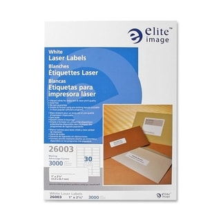 Elite Image Mailing Laser Label (3000 per Pack)