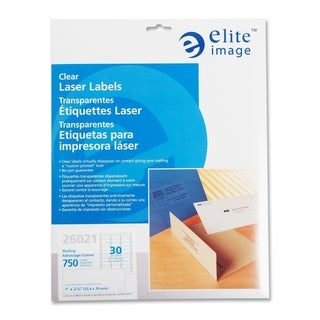 Elite Image Clear Address Laser Label (750 per Pack)