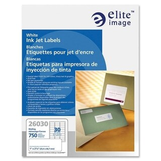 Elite Image Address Label (750 per Pack)