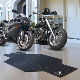 Fanmats Oakland Raiders Black Rubber Motorcycle Mat