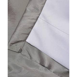 Silver, Polyester Blend, Grommet Curtains & Drapes - Shop The Best ...