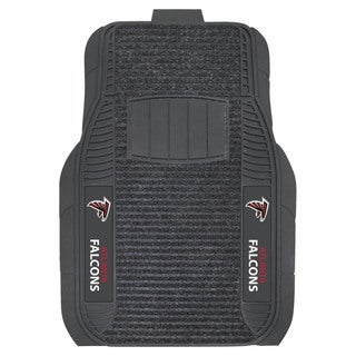 Fanmats Atlanta Falcons Charcoal Vinyl Deluxe Floor Mat Set