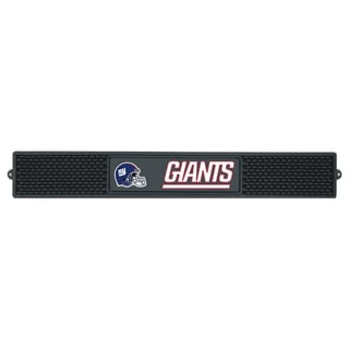 Fanmats New York Giants Black Rubber Drink Mat