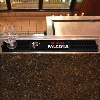 Fanmats Atlanta Falcons Black Rubber Drink Mat