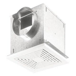 Broan NuTone Ventilator 308 CFM Horizontal 2.9 Sones 313 CFM Vertical Polymeric Grille. 8-inch Round Duct Connector 120V L300