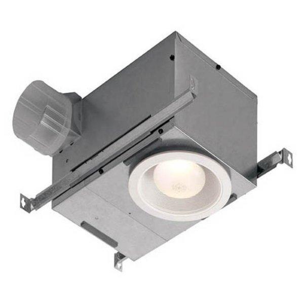 Broan Nutone White TrimEnergy Star 70 CFM 6-inch Recessed Fan/ Fluorescent Light