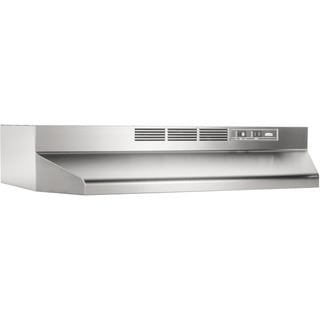 Broan Nutone Stainless Steel Non-ducted Range Hood