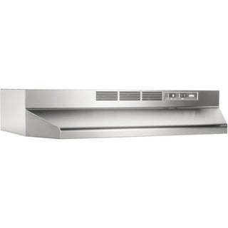 Broan NuTone Stainless Steel Non-ducted Range Hood 413004 (Option: Stainless Steel)