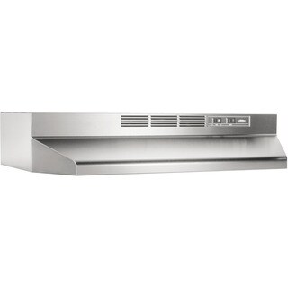 Broan NuTone Stainless Steel Non Ducted Range Hood 413004