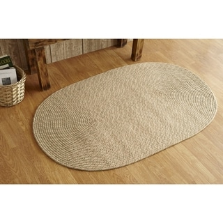 Palm Springs Indoor/ Outdoor Braided Rug (5' x 7')