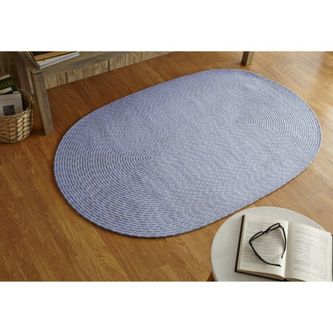 Better Trends Sunsplash Indoor/ Outdoor All-weather Braided Oval Rug