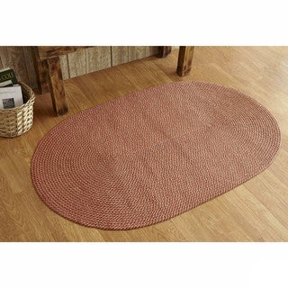 Palm Springs Indoor/ Outdoor Braided Rug (8' x 10') by Better Trends