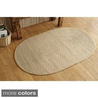 Palm Springs Indoor/ Outdoor Braided Rug (1'8 x 2'6) by Better Trends - 1'8 x 2'6
