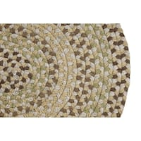 Woodbridge Braided Wool Rug by Better Trends (7'4 x 9'4)