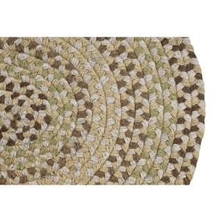 Woodbridge Braided Wool Rug by Better Trends (7'4 x 9'4)