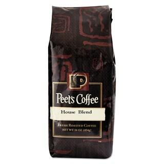 Peet's Coffee & Tea Bulk House Blend Ground 1 lb Bag Coffee