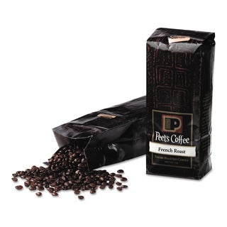 Peet's Coffee & Tea Bulk French Roast Ground 1 lb Bag Coffee