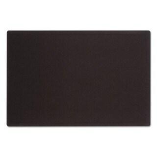 Quartet Oval Office Black Fabric Bulletin Board