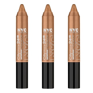 N.Y.C. City Proof 24 Hour Brooklyn Mocha Eye Shadow (3 Pack)