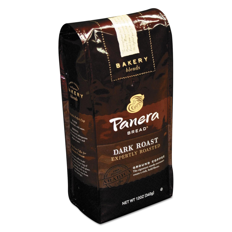 Panera Bread Dark Roast 12 oz Bag Ground Coffee (Brown) (...