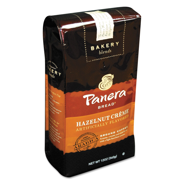 Panera Bread Hazlenut Crème 12 oz Bag Ground Coffee (12 o...