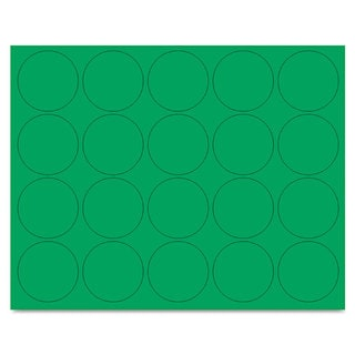 MasterVision Interchangeable Green Magnetic Characters (3 Packs of 20)