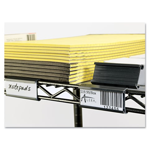Alera Grey Wire Shelving Shelf Tag (Pack of 10)