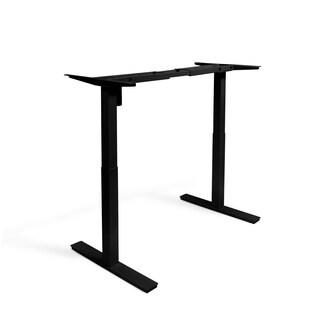 Autonomous SmartDesk - Height-Adjustable Standing Desk - Dual Motor - DIY Frame (Table top not included) (Option: Black - Black Finish)