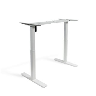 Autonomous SmartDesk - Height-Adjustable Standing Desk - Dual Motor - DIY Frame (Table top not included) (Option: Grey - Grey Finish)