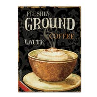 Lisa Audit 'Today's Coffee II' Canvas Art - Multi