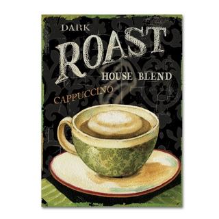 Lisa Audit 'Today's Coffee III' Canvas Art