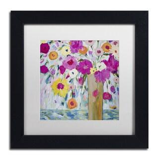 Carrie Schmitt 'Sunshine Daydream' Matted Framed Art
