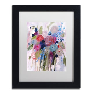 Carrie Schmitt 'Fresh Bouquet' Matted Framed Art