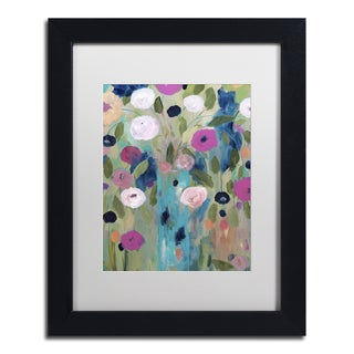 Carrie Schmitt 'Entwined' Matted Framed Art