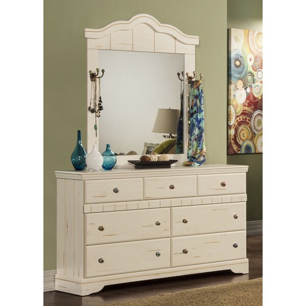 Sandberg Furniture Jardin Dresser And Mirror Free