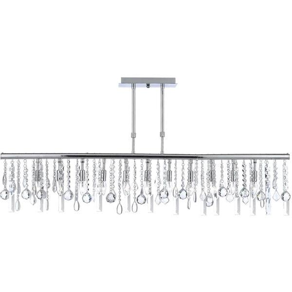 Contemporary Modern Linear Crystal 11light Chandelier Free – Linear Chandelier Crystal