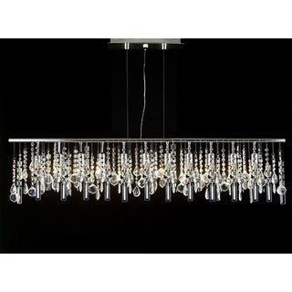 Contemporary Modern Linear Crystal 11-light Chandelier