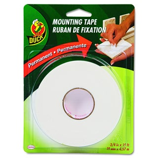 Duck White Permanent Foam Mounting Tape