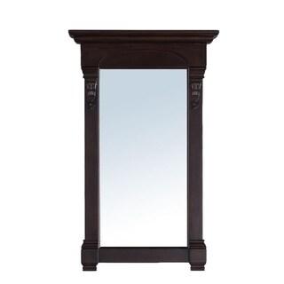 James Martin 26-inch Brookfield Single Mirror,  Burnished Mahogany - burnished mahogany - A/N