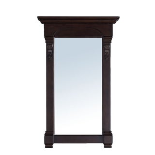 James Martin 26-inch Brookfield Single Mirror, Burnished Mahogany