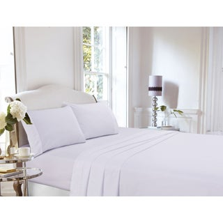 400 Thread Count Cotton Percale Deep Pocket Sheet Set or Pillow Pair (More options available)