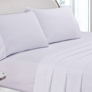 400 Thread Count Cotton Percale Deep Pocket Sheet Set or Pillow Pair