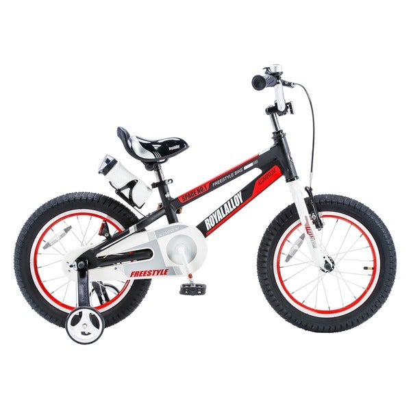 RoyalBaby Space No. 1 Aluminum 12-inch Kids' Bike with Training Wheels -  RB12-17