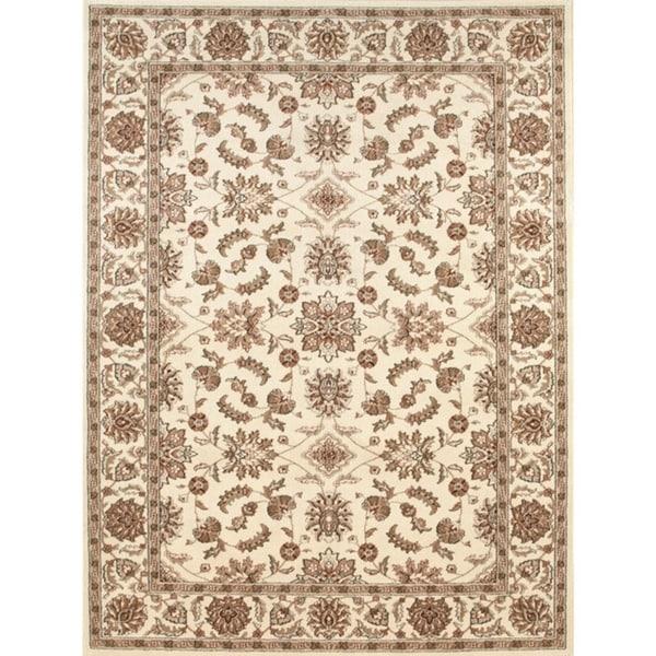 Admire Home Living Amalfi Oriental Ivory area rug - 7'9 x 11'