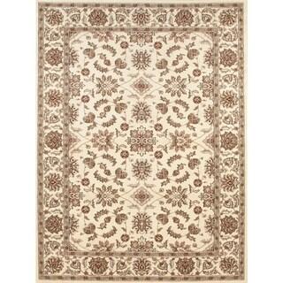 Admire Home Living Amalfi Oriental Ivory  area rug (7'9 x 11') - 7'9 x 11'