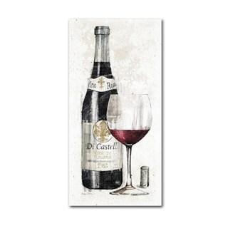 Avery Tillmon 'Pencil Wine I' Canvas Art