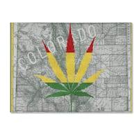 Potman 'Legalized I Colorado' Canvas Art - Multi