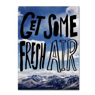 Leah Flores 'Fresh Air' Canvas Art
