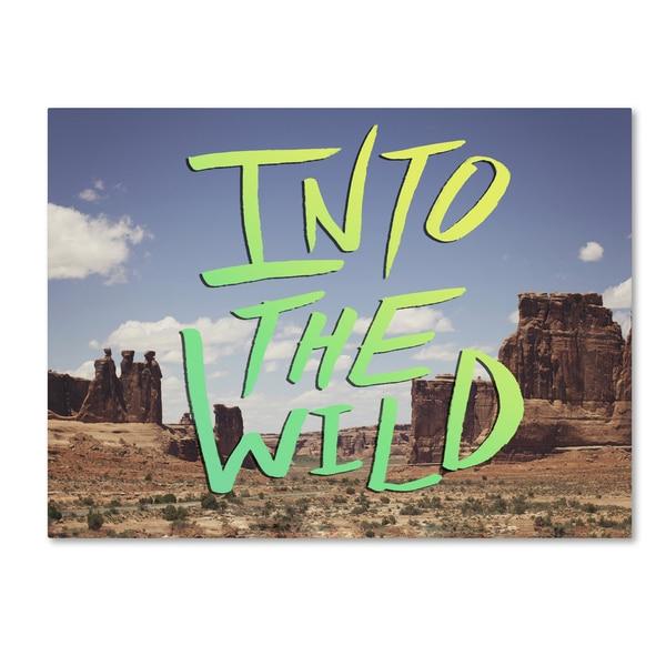 Leah Flores 'Into the Wild, Moab' Canvas Art